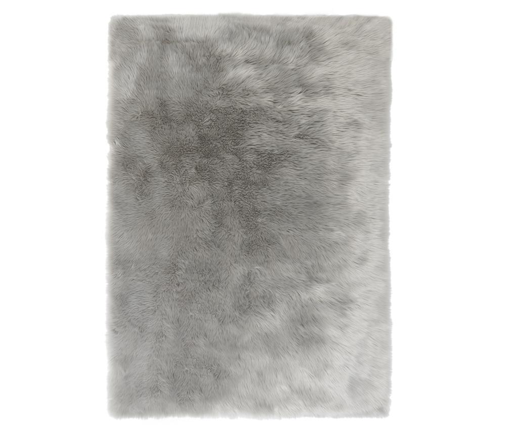 Covor Sheepskin Faux Grey 120x170 Cm - Flair Rugs, Gri & Argintiu