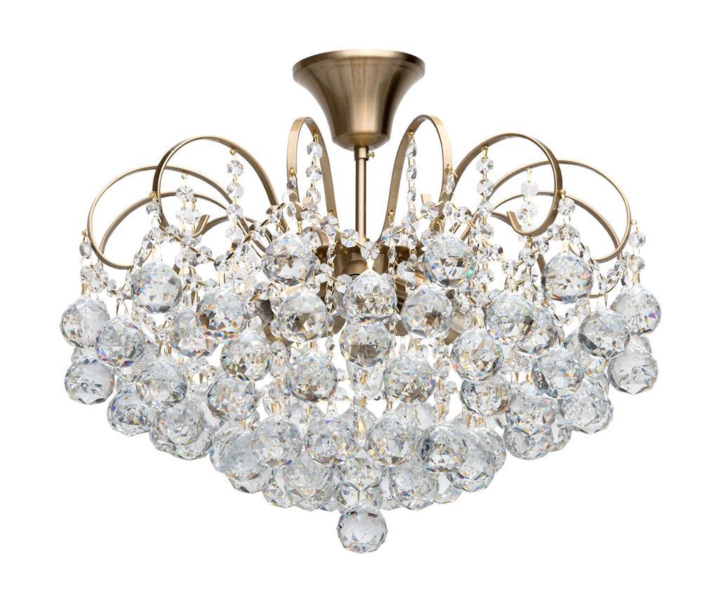 Classic Lighting Candelabru Pearl Bronze Galben Auriu