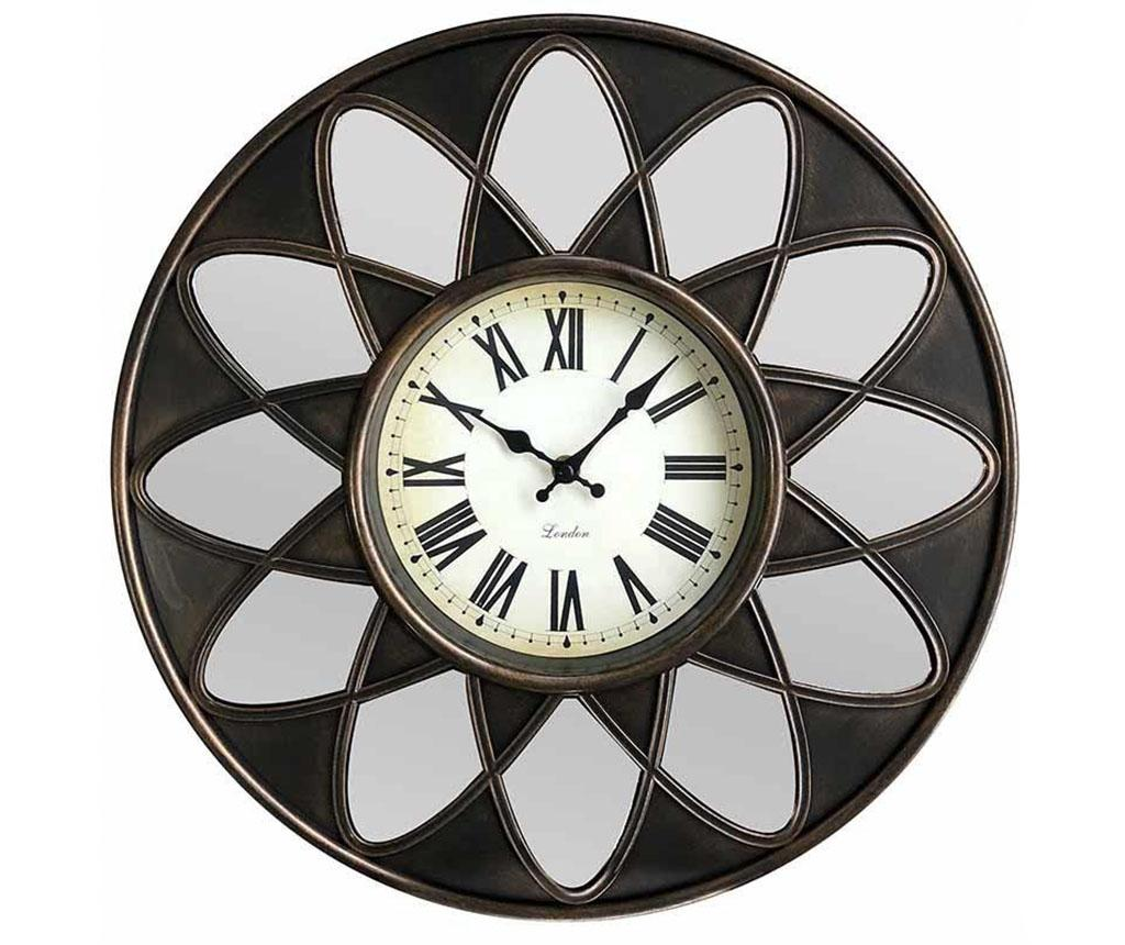 Ceas de perete Brooks - inart, Gri & Argintiu