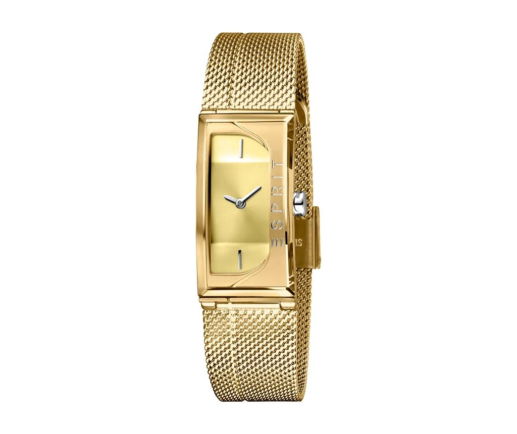 Ceas De Mana Dama Esprit Houston Champagne And Gold Tone