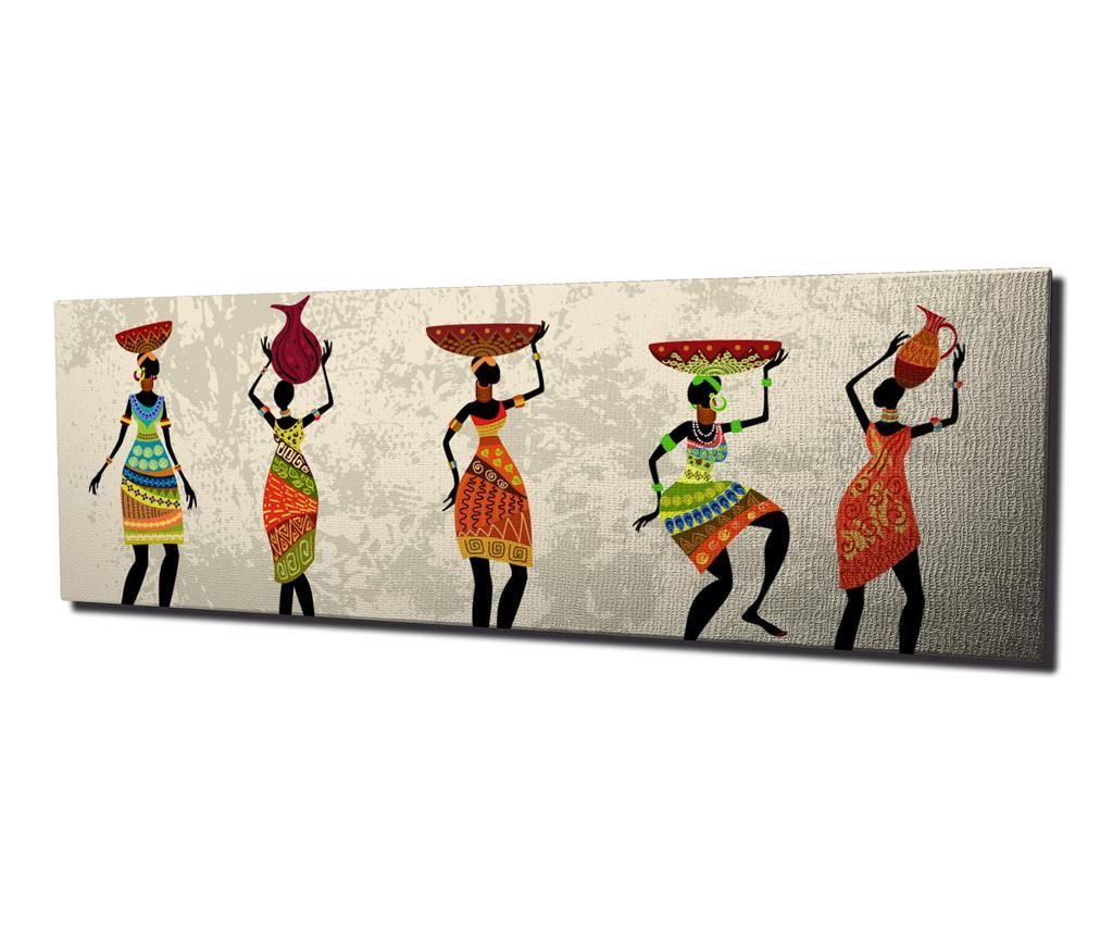 Tablou Jayne 30x80 cm - Symphony, Multicolor