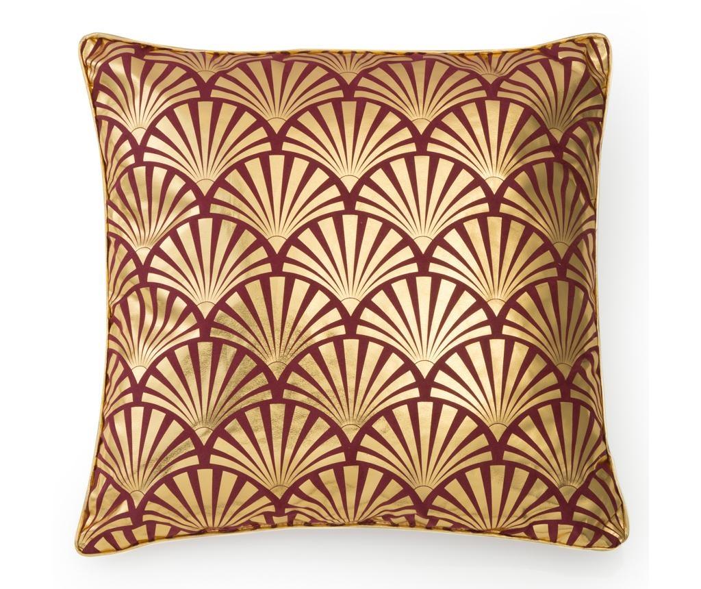 Ukrasni jastuk Fans Gold Red 40x40 cm