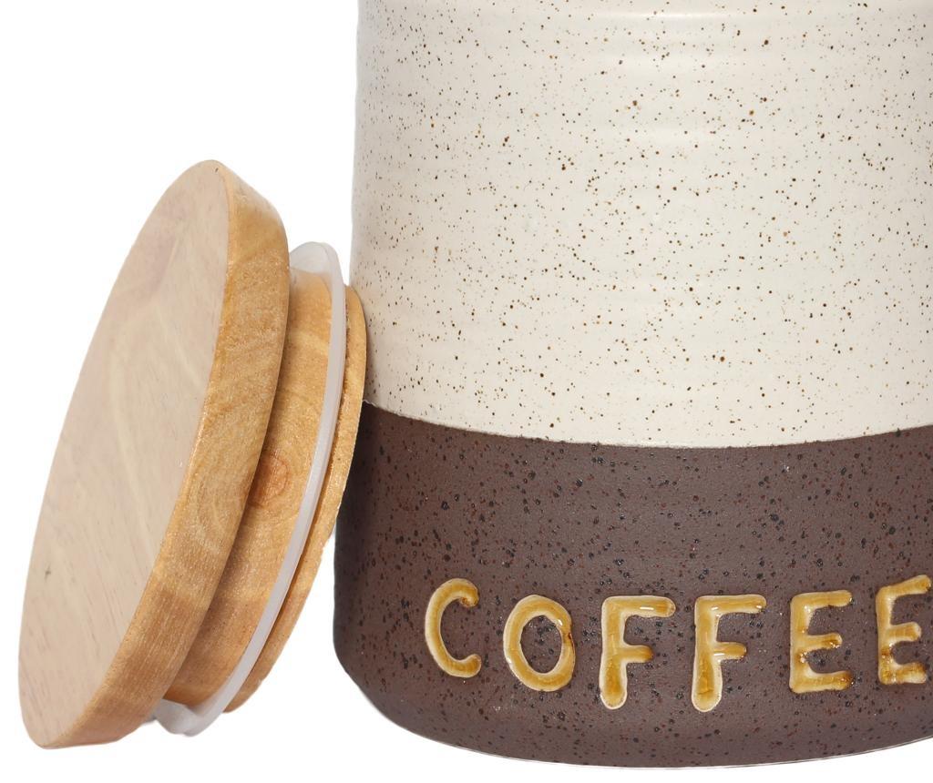 Posuda za kavu s poklopcem Dots