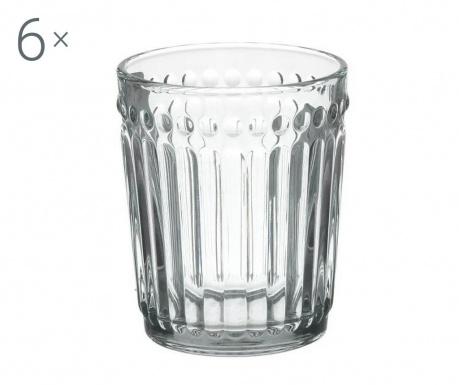 Set 6 kozarcev za whiskey Clara Clear 227 ml