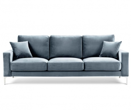 Lyrique Light Blue Háromszemélyes kanapé