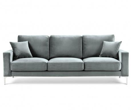 Lyrique Light Grey Háromszemélyes kanapé