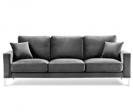 Lyrique Grey Háromszemélyes kanapé