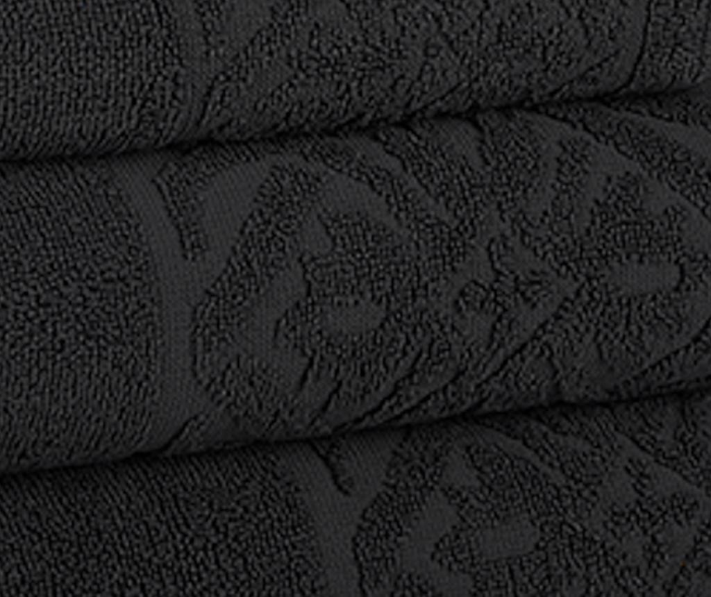 Kupaonski ručnik Porto Black 50x90 cm