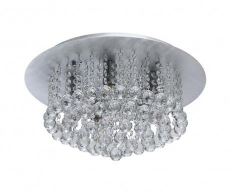 Stropna svjetiljka Bianca Silver