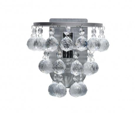 Zidna svjetiljka Drop Cluster Silver