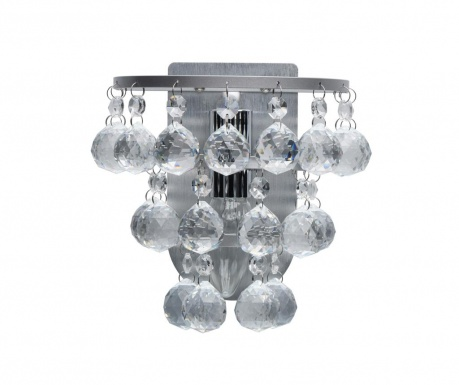 Stenska svetilka Drop Cluster Silver