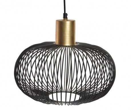 Závesná lampa Golden Black