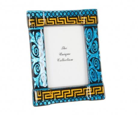 Okvir za slike Blue Geometric
