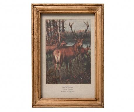 Deer Kép 25x35 cm