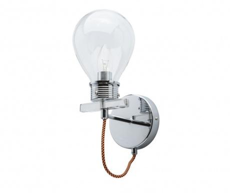 Zidna svjetiljka Bulb Silver