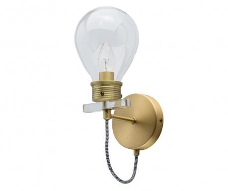 Zidna svjetiljka Bulb Gold
