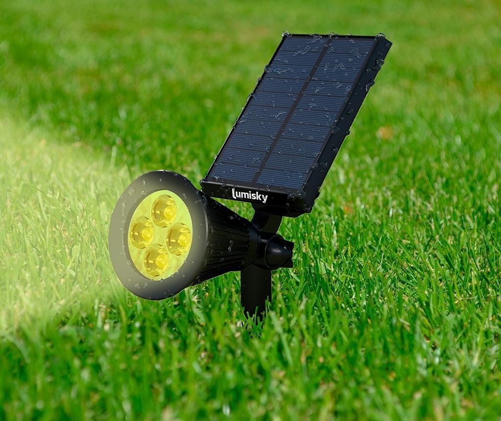 Lampa solara Spiky Warm
