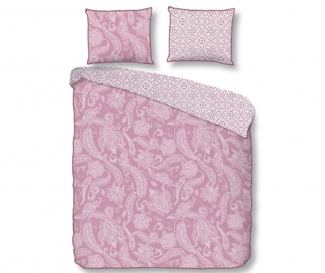 Posteljnina Single Sateen Cairo Pink Plus