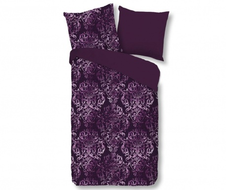 Posteljnina Single Sateen Olaf Purple