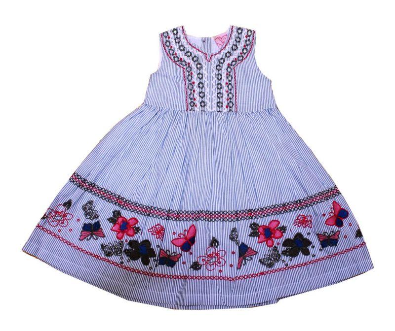 Otroška obleka Butterfly 7-8 let