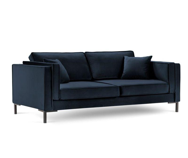 Canapea 3 locuri Luis Dark Blue