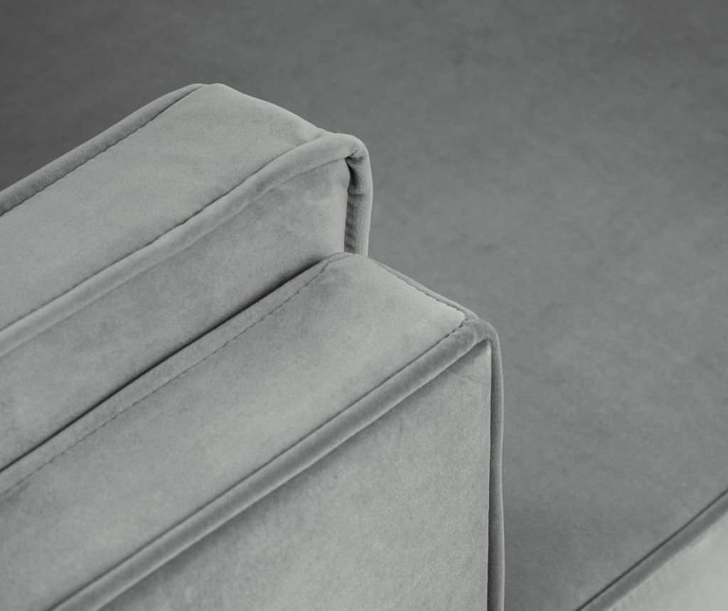 Luis Light Grey Baloldali sarokkanapé