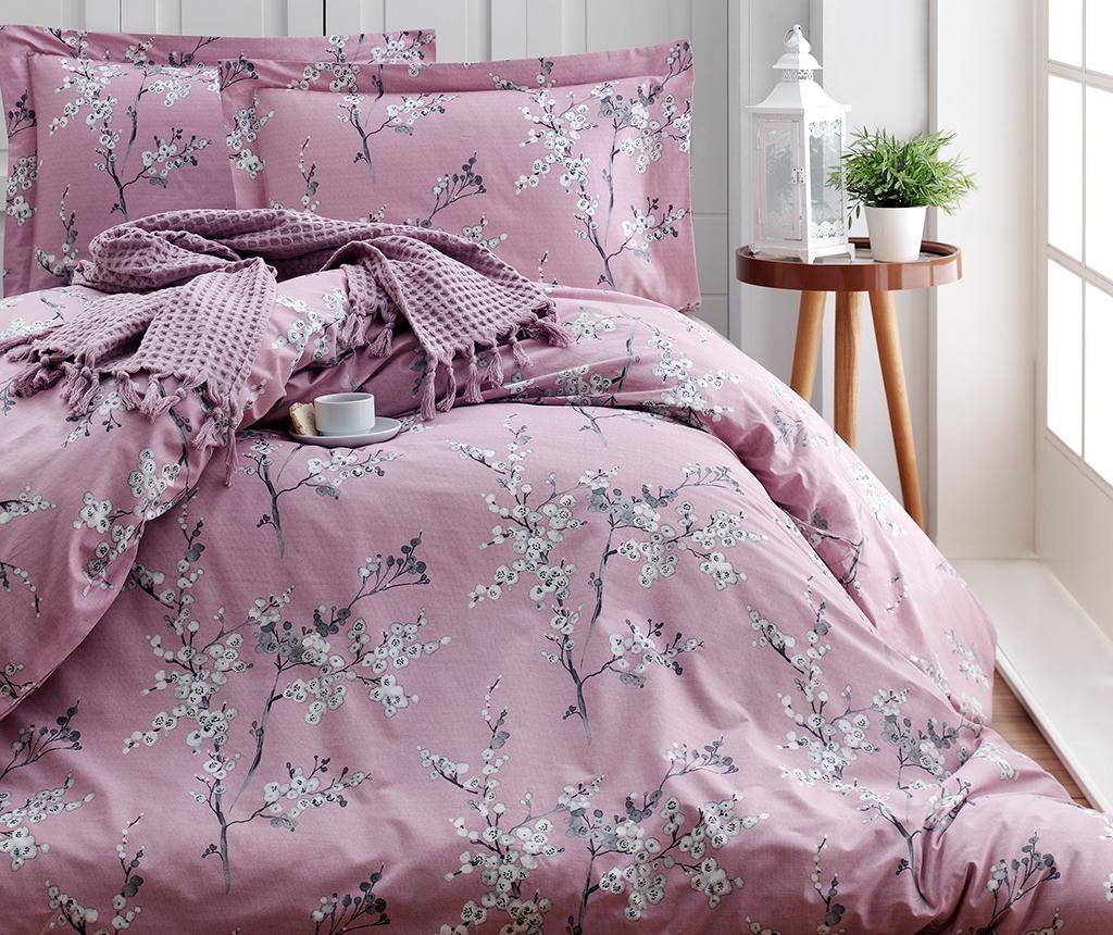 Posteljina King Ranforce Chicory Pink