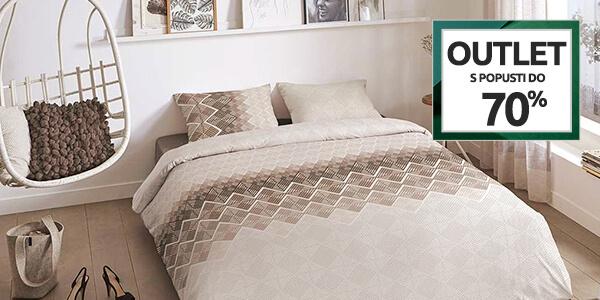 Outlet: Tekstil za spalnice