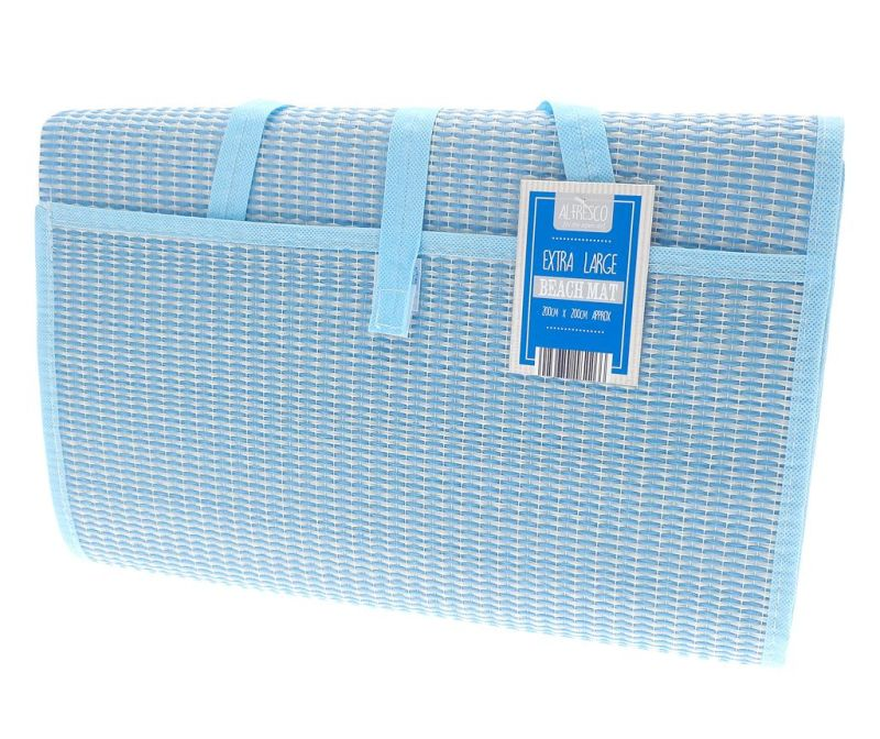 Rogojina Craft Blue 200x200 cm