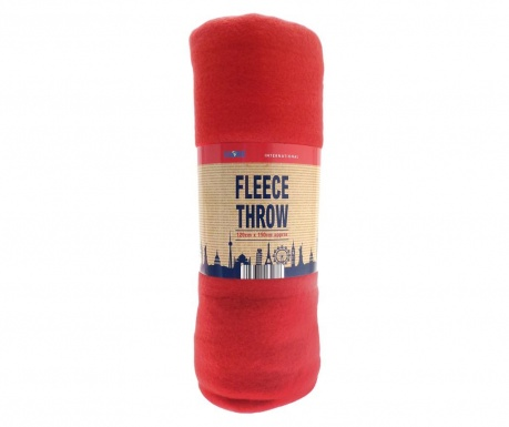 Одеяло Travel Red 120x150 см