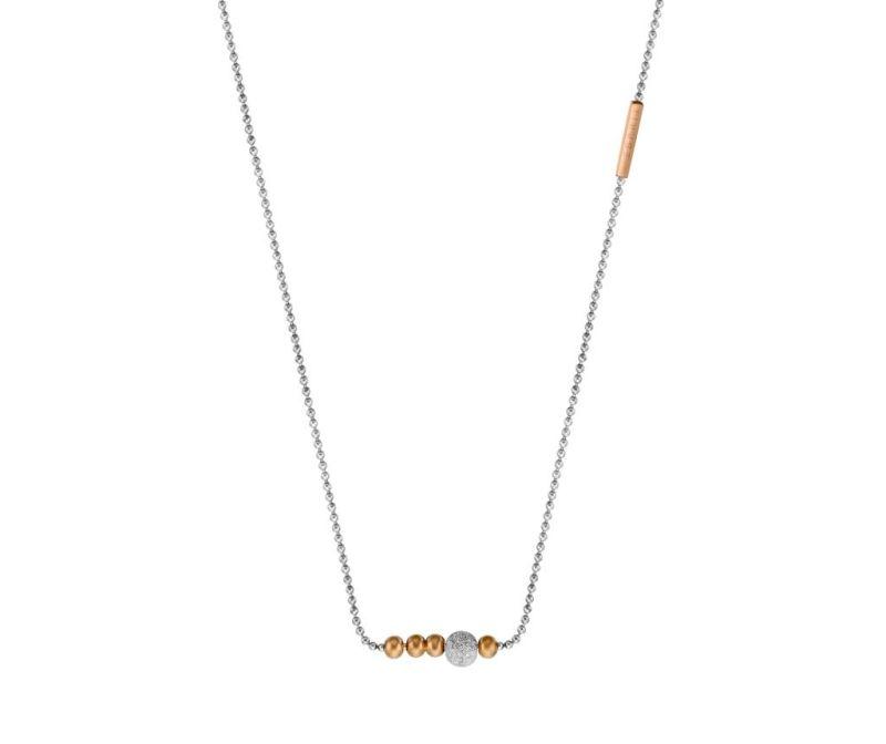 Ogrlica z obeskom Esprit Belle Silver & Rose Gold Tone