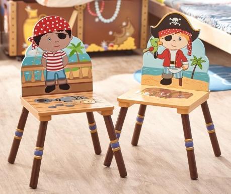 Pirate Island Red 2 db Gyerekszék