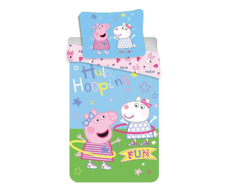 Posteljina Single Peppa Pig