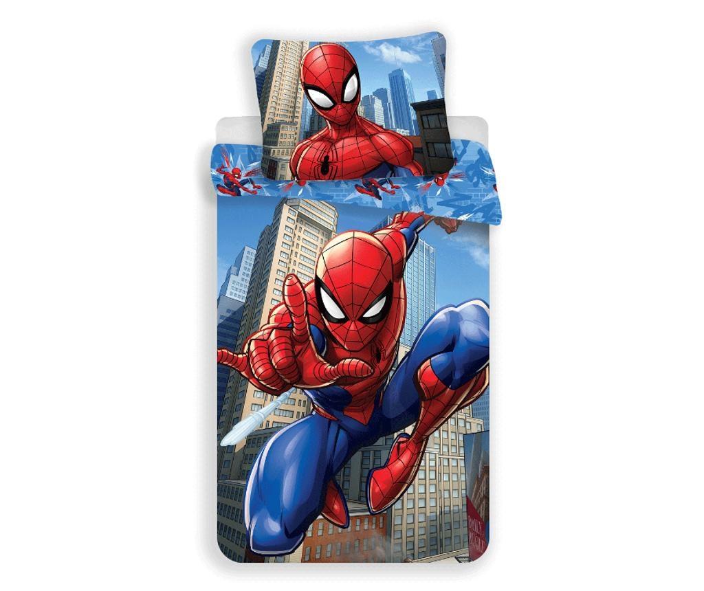 Спален комплект Single Spiderman Blue