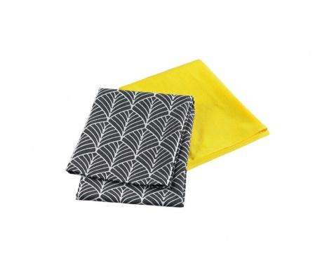 Комплект от 2 кухненски кърпи Modern Style Yellow 50x70 см