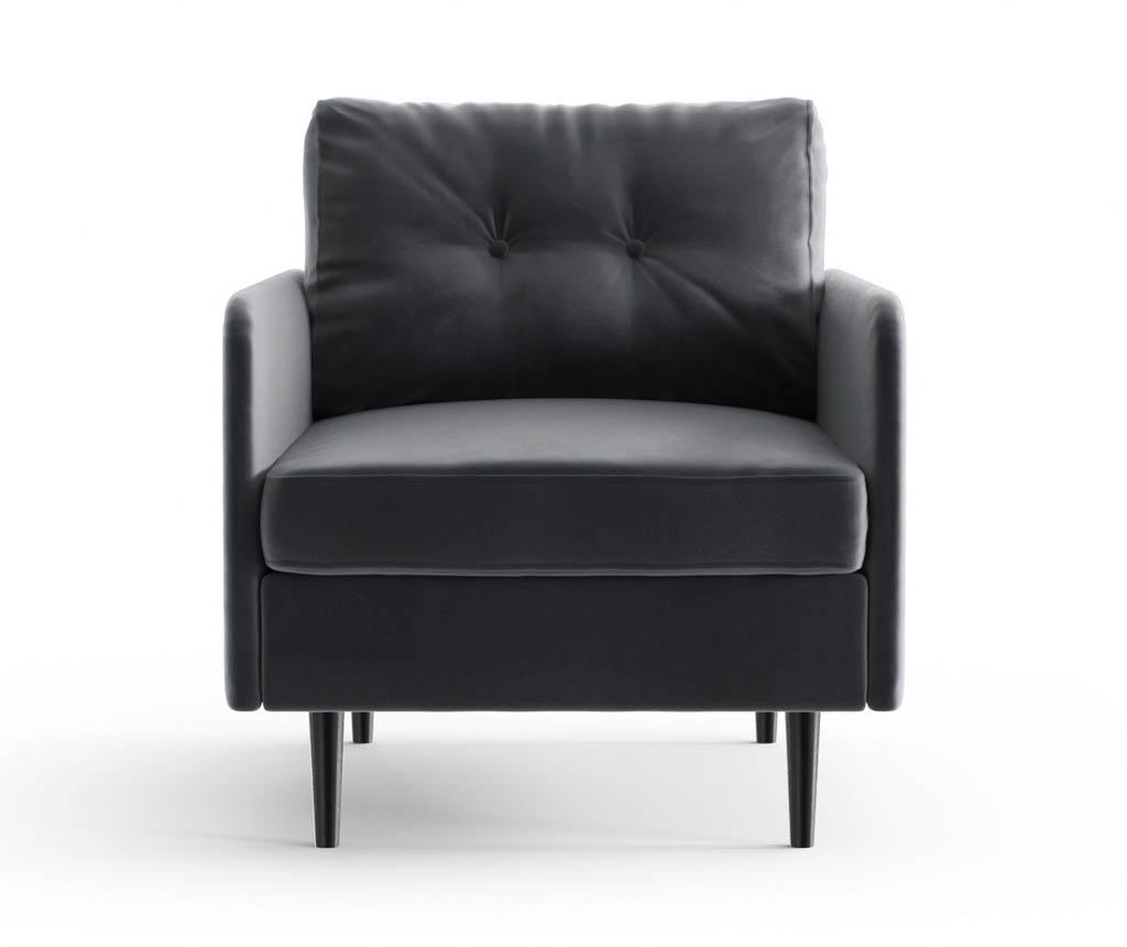 Memphis Anthracite Fotel