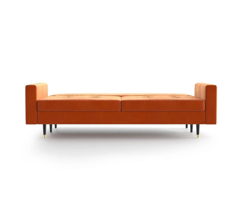 Canapea extensibila 3 locuri Aldo Orange