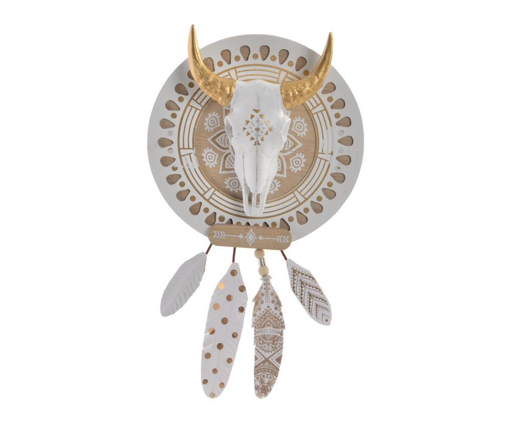 Decoratiune de perete Horns - Item International, Maro