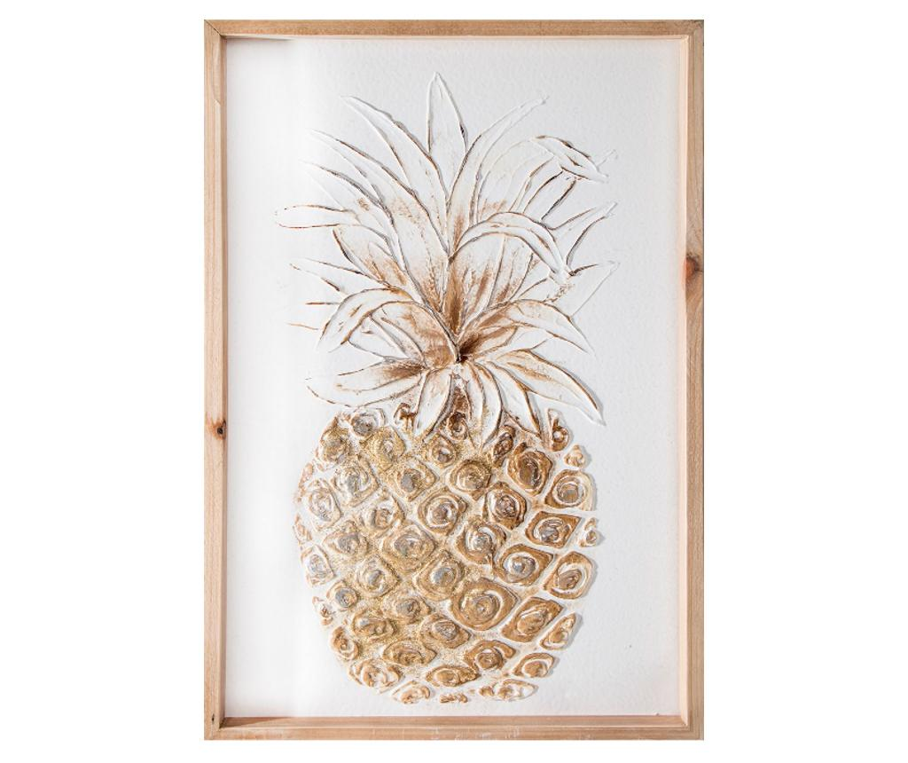 Tablou Pineapple 40x60 cm - Eurofirany, Multicolor