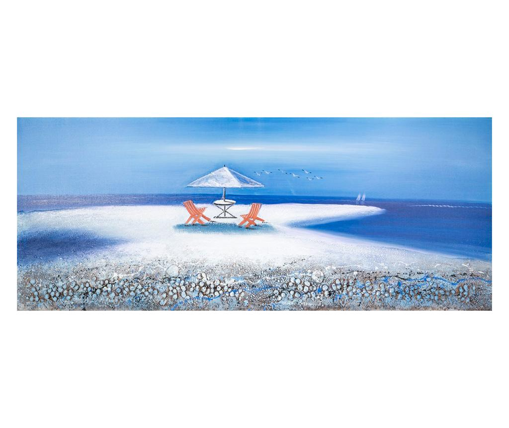 Tablou Breakfast Dream 60x150 cm - Eurofirany, Multicolor
