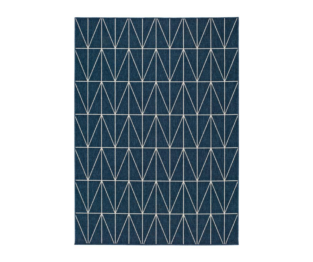 Covor Nicol Blue 80x150 cm - Universal XXI, Albastru