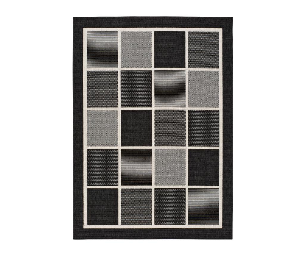 Covor Nicol Black 80x150 cm - Universal XXI, Negru