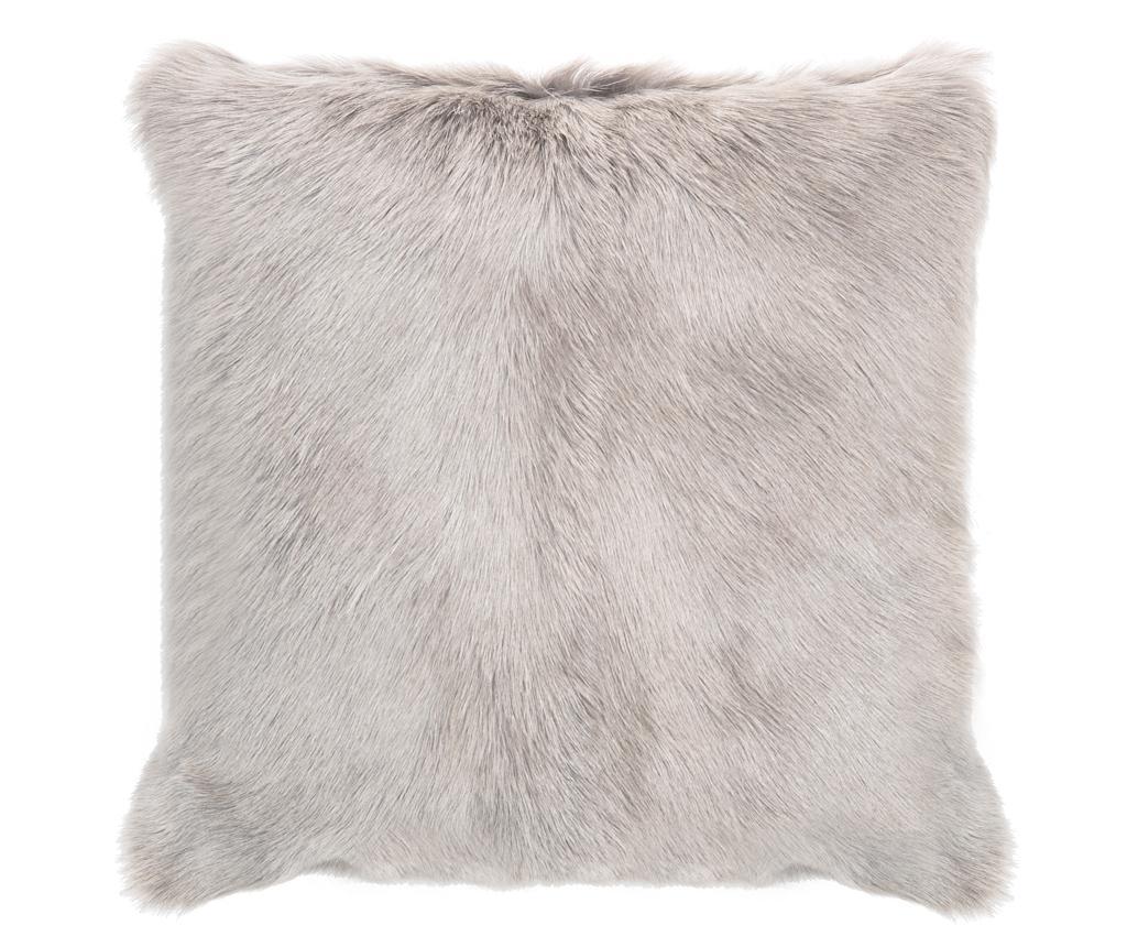 Perna decorativa Fur Maxi Grey 50x50 cm - Tomasucci, Gri & Argintiu