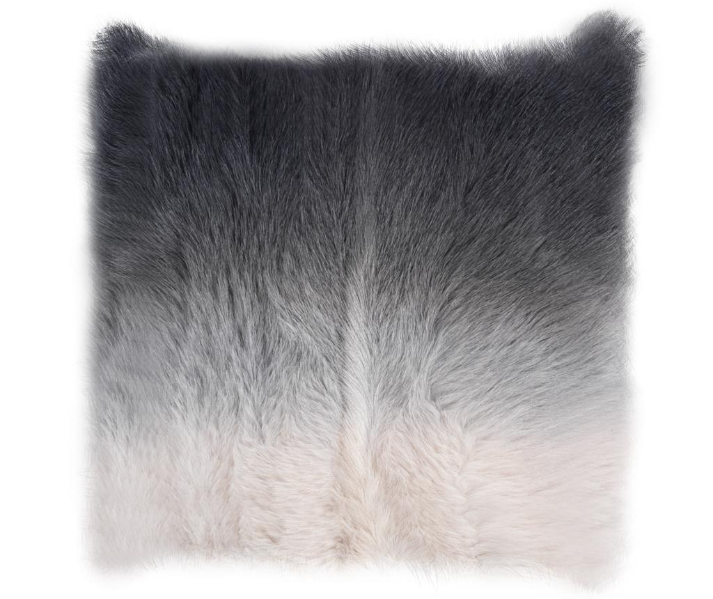 Husa De Perna Decorativa Fur Maxi Ivory 50x50 Cm - Tomasucci, Alb