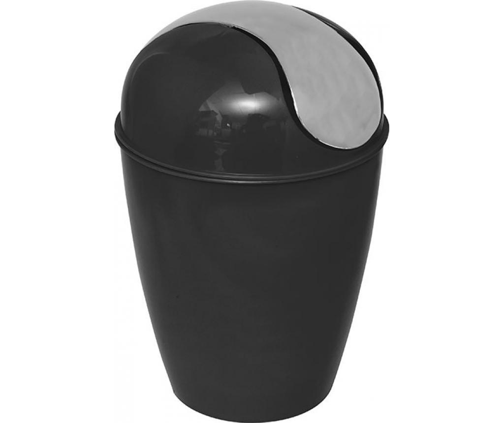 Cos de gunoi cu capac Peva Black - Tendance, Multicolor