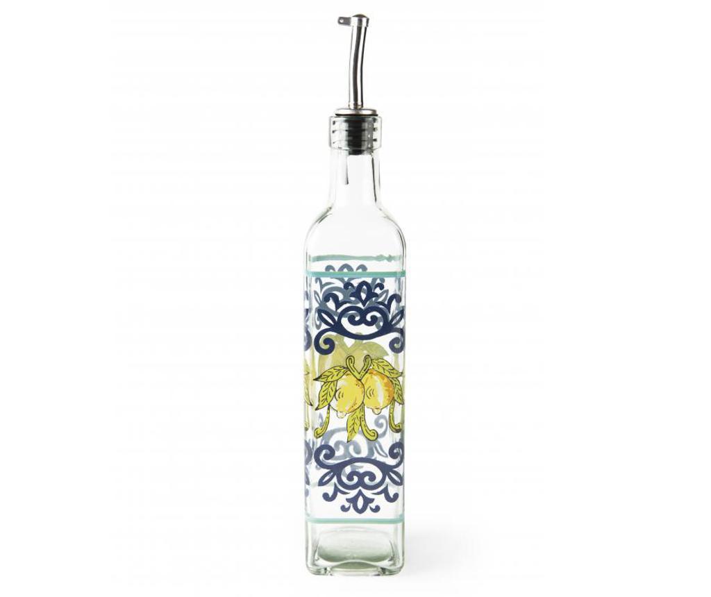 Poza Recipient pentru ulei Amalfi 473 ml - Excelsa, Alb