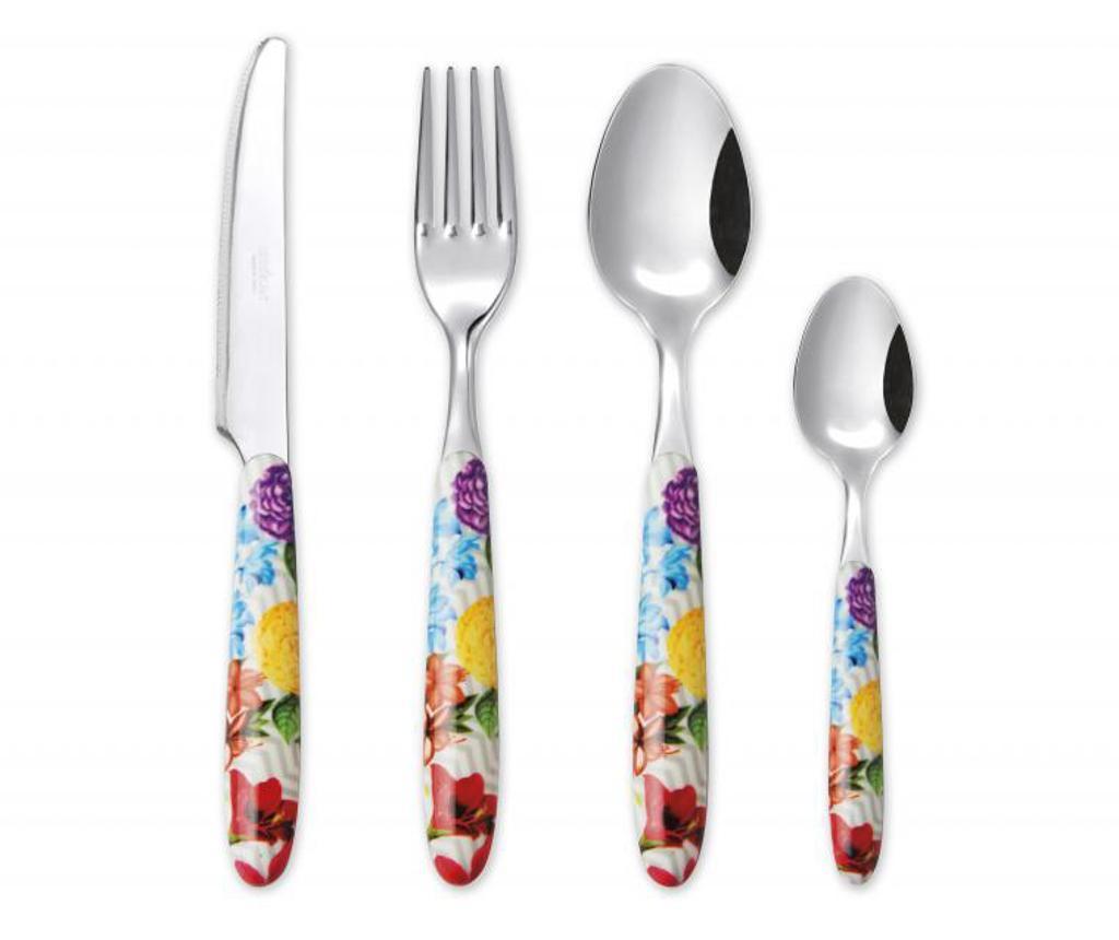 Set tacamuri 24 piese Floral - Excelsa, Multicolor