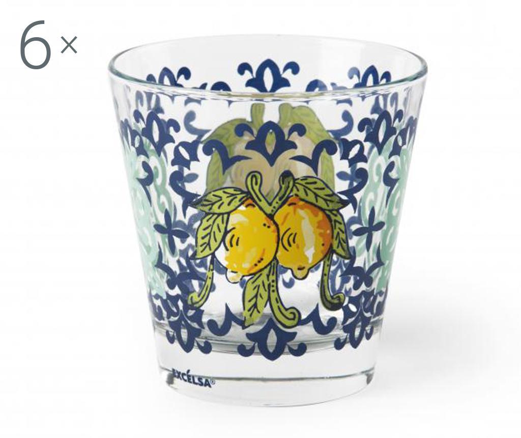 Set 6 pahare Amalfi - Excelsa, Multicolor