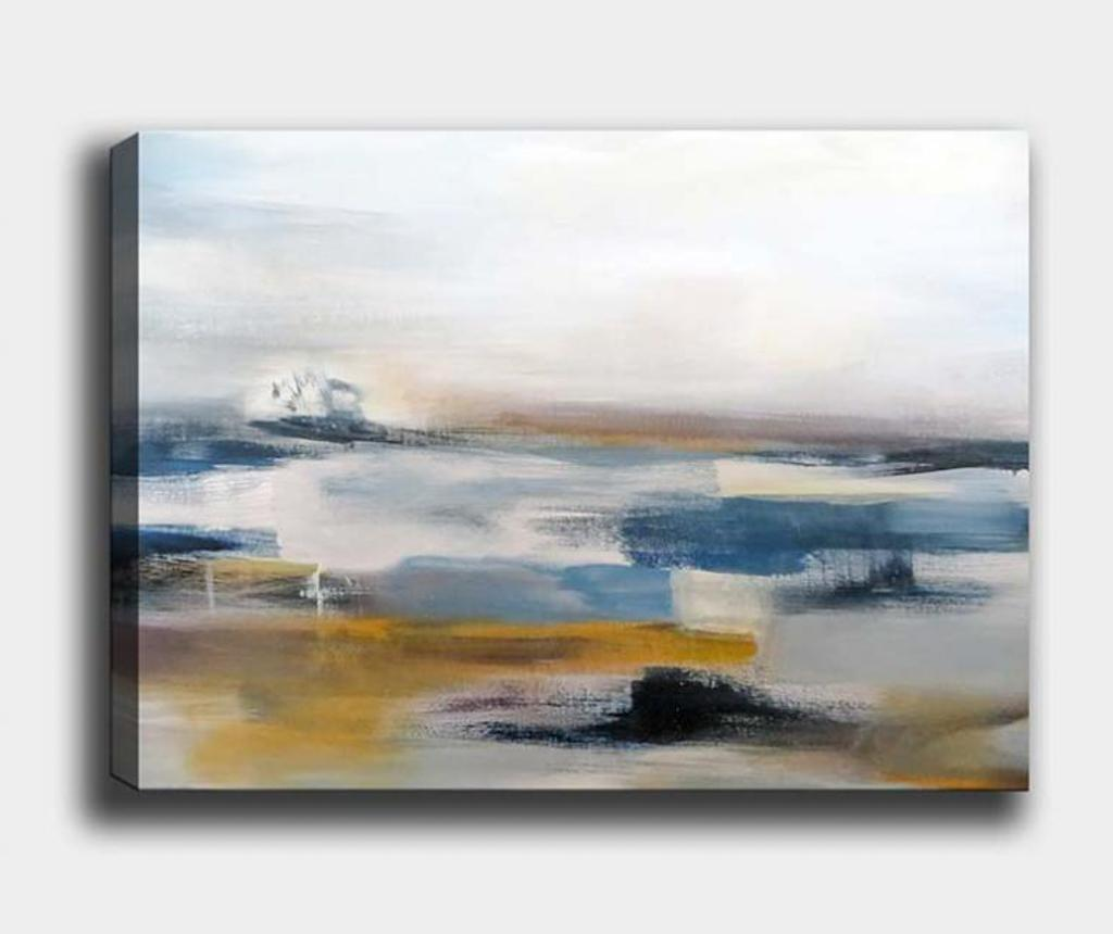 Tablou Abstract Landscape 70x100 cm - Tablo Center, Multicolor