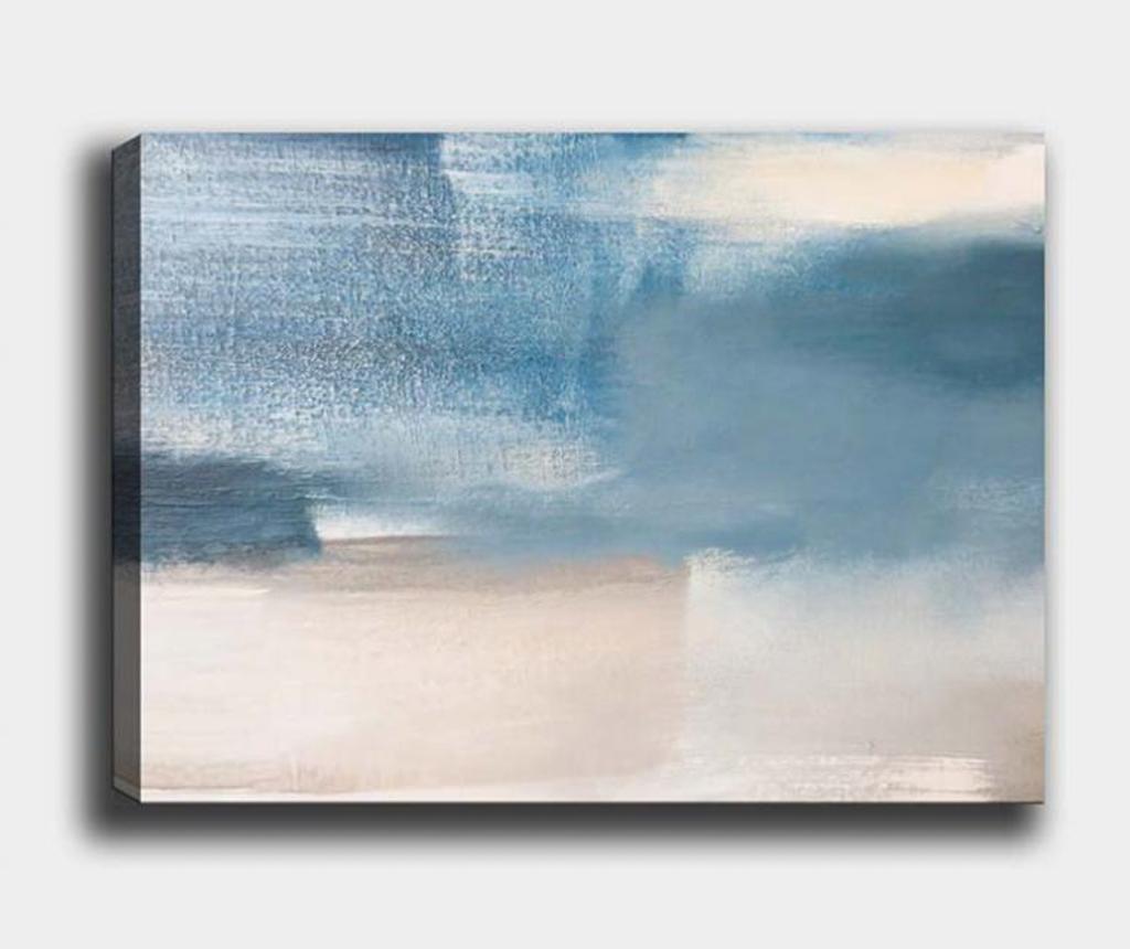 Tablou Abstract Ocean 70x100 cm - Tablo Center, Multicolor